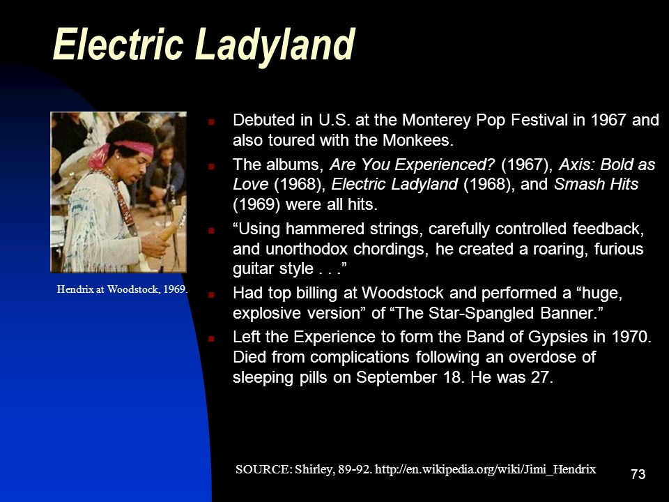 an introduction to the history of woodstock a rock music festival It came to be called woodstock '69, a three day music festival filled with all things pleasurable, most notably sex, drugs, and rock and roll although there was a lot of drugs, and a number of mishaps, like rain, food shortages, and a few deaths, all in all woodstock '69 accomplished a lot in the big picture.