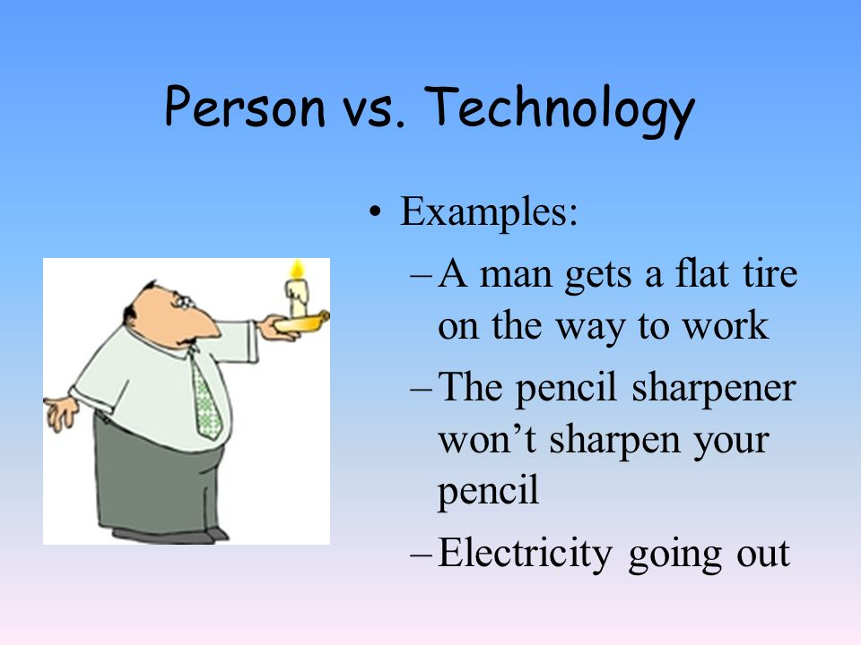 technology vs man essay Technology vs humanity in a technology/ humanity relationship, humanity is the master and technology is the slave but not for long technology- the one thing that people love to use and manipulate- will soon use and manipulate people.