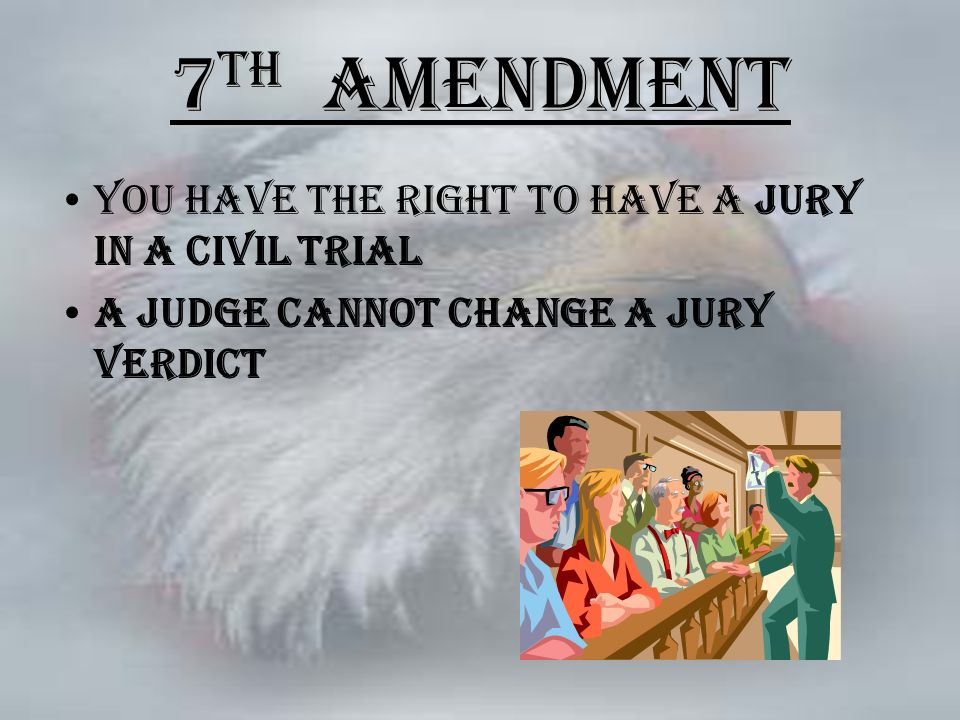 Double Jeopardy 5th Amendment The Bill of Rights (17...