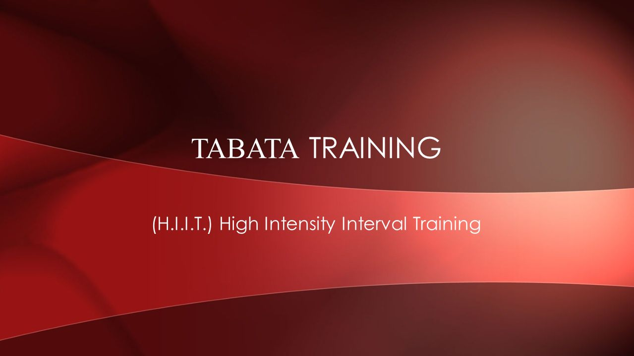 Hiit High Intensity Interval Training Ppt Video Online Download Workouts Timers For Tabata And Circuit Are Included