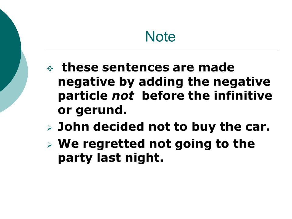 in english  some verbs are followed by the infinitive  to