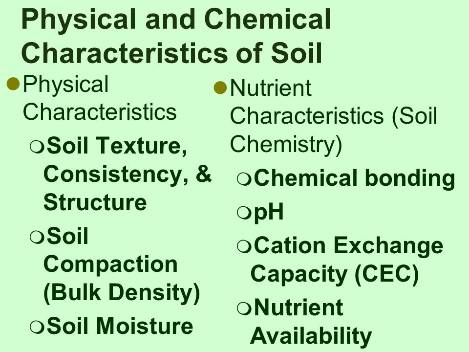 Soil is not dirt ppt video online download for What are soil characteristics