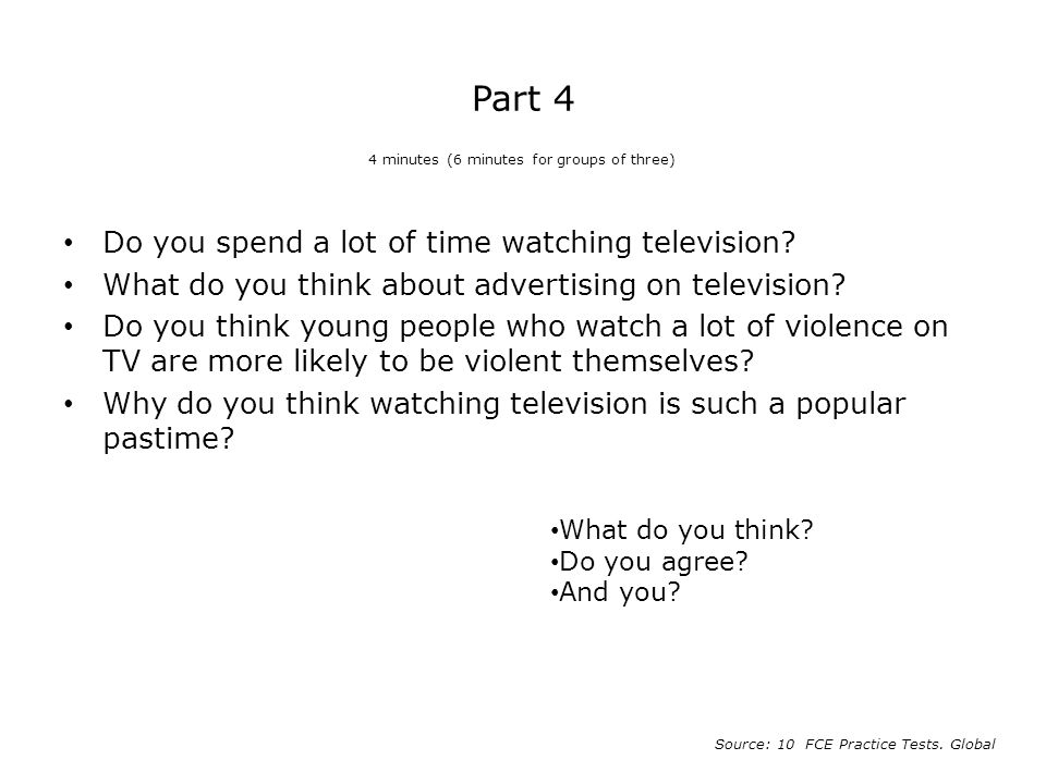 do you think that watching television Get an answer for 'children watch to much television in essay less likely to think the idea here is that watching tv is a enotescom will help you with.