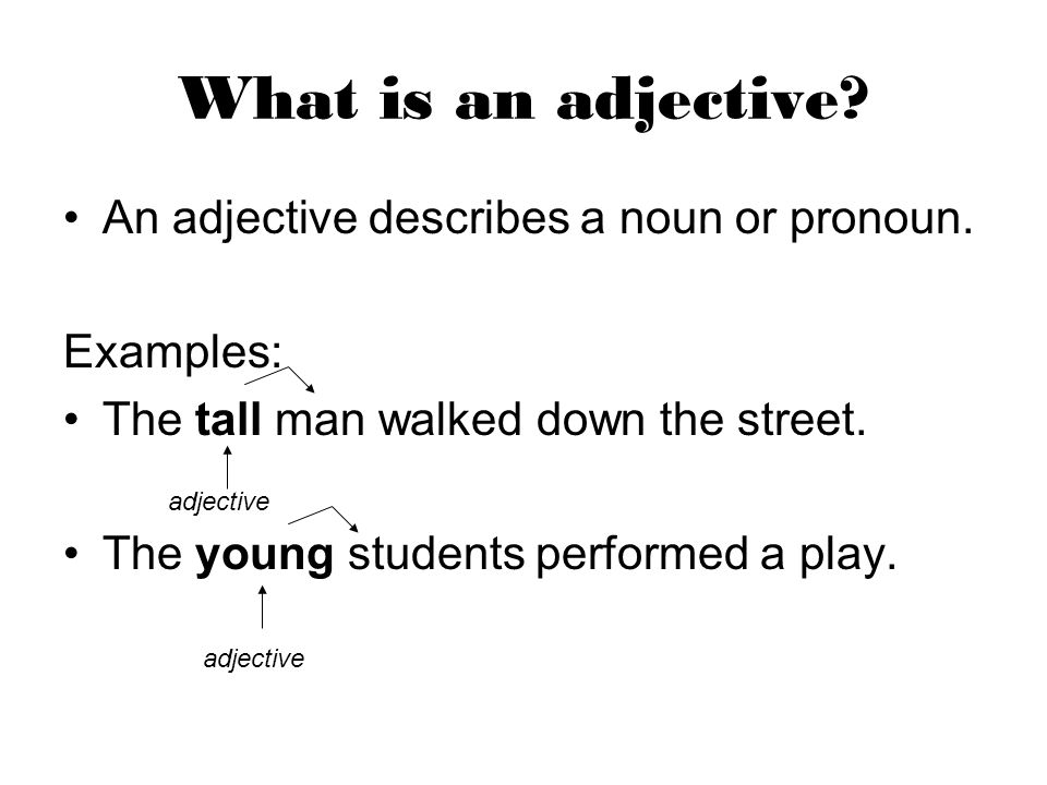 Adjectives. - ppt video online download