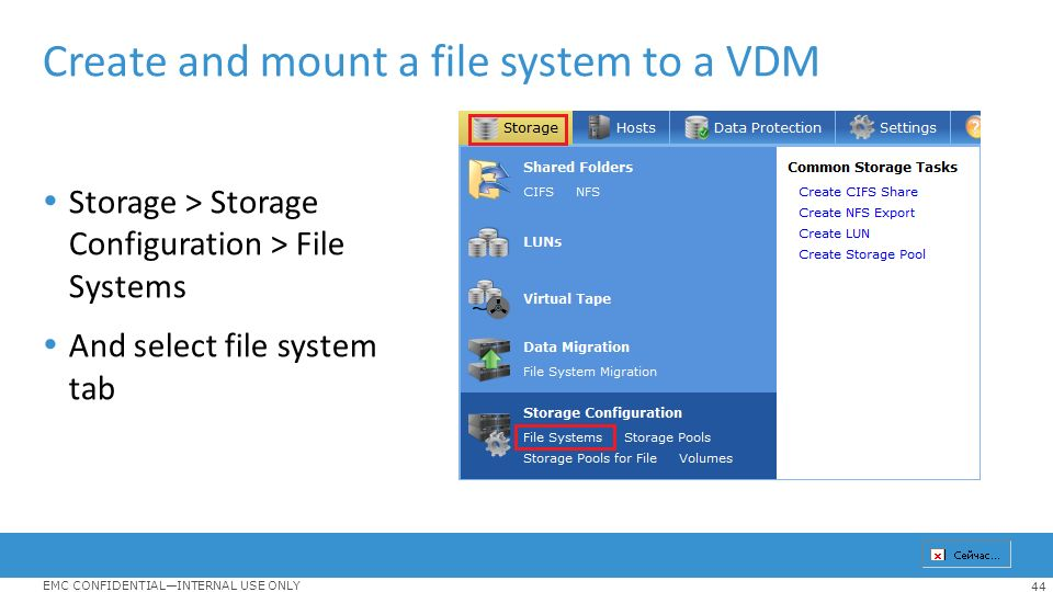 how to create a filesystem in linux and mount it