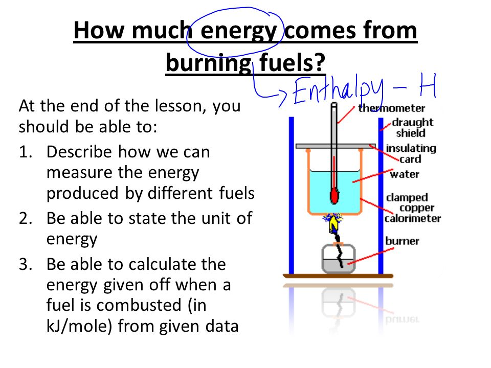 how to find energy released