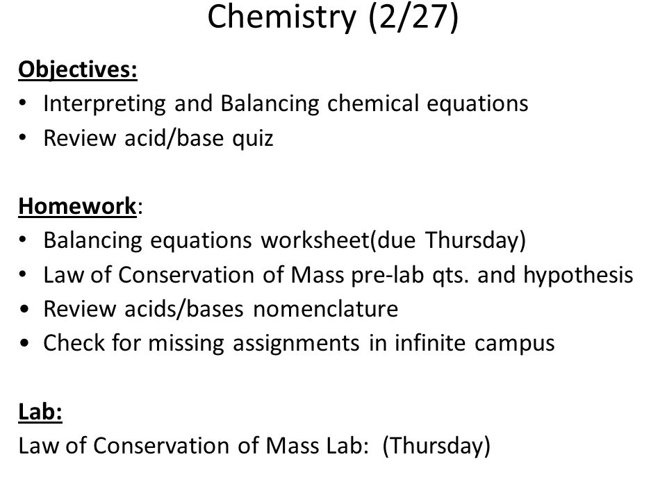 Chemical Reactions ppt download – Writing and Balancing Chemical Equations Worksheet