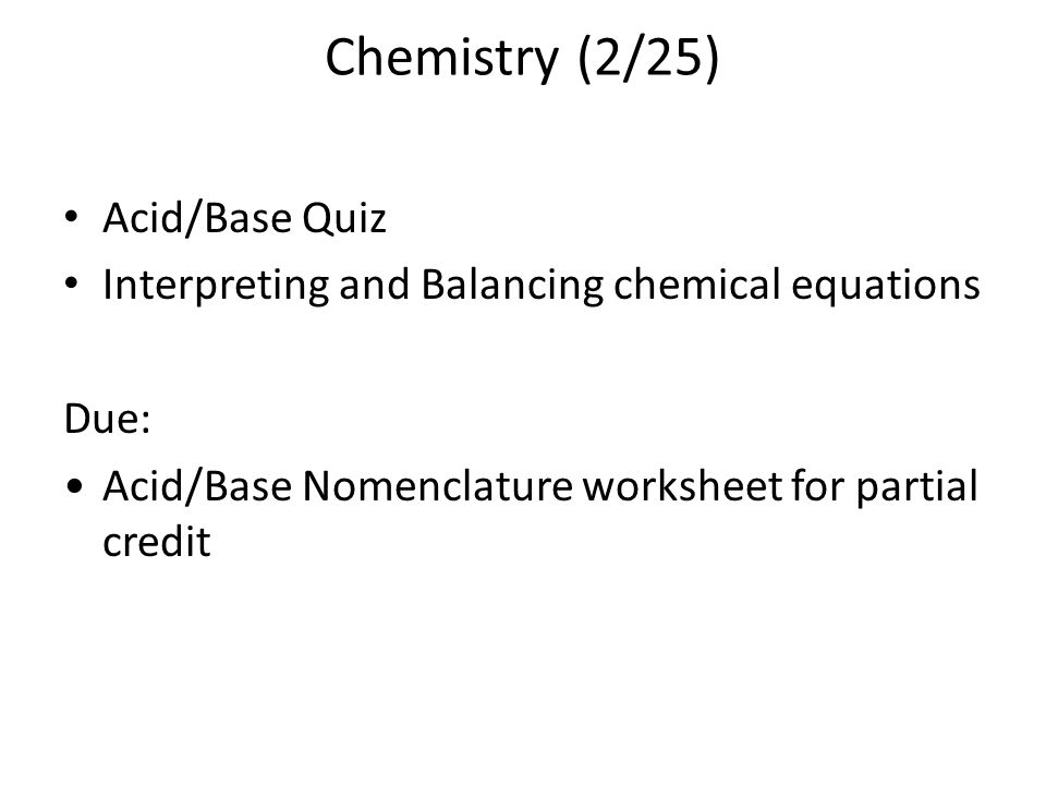 Chemical Reactions ppt download – Chemistry Nomenclature Worksheet