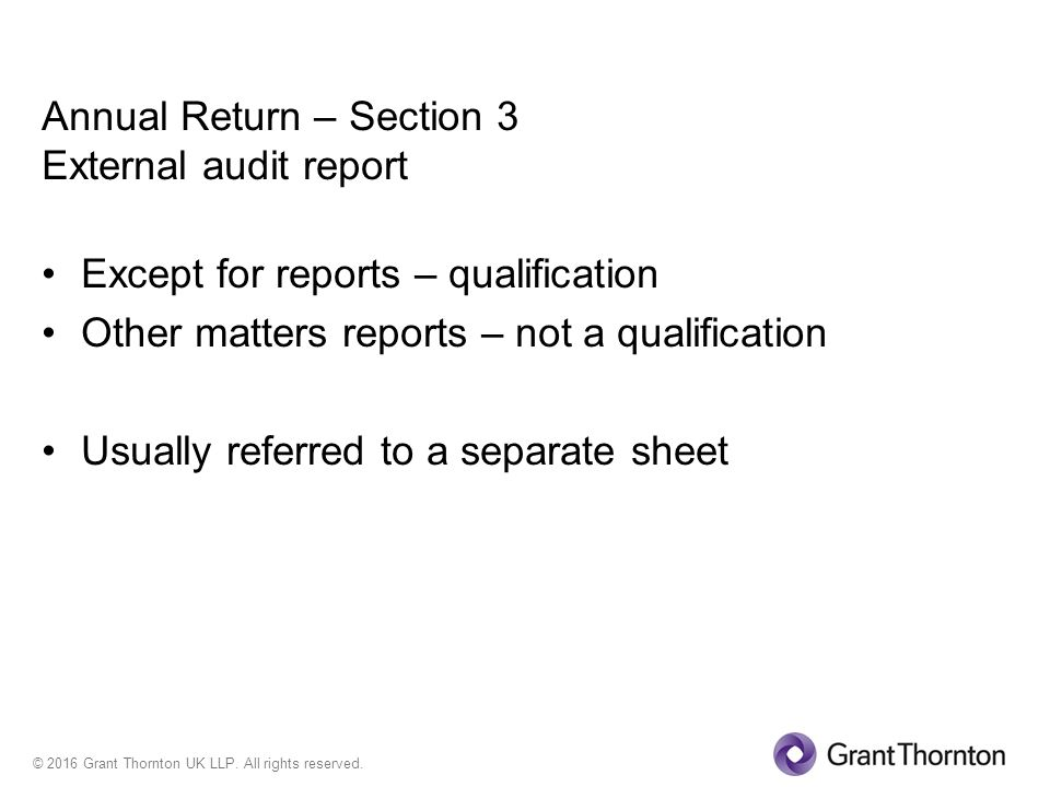 Local Council Audits – 2015/16 Grant Thornton - Ppt Download