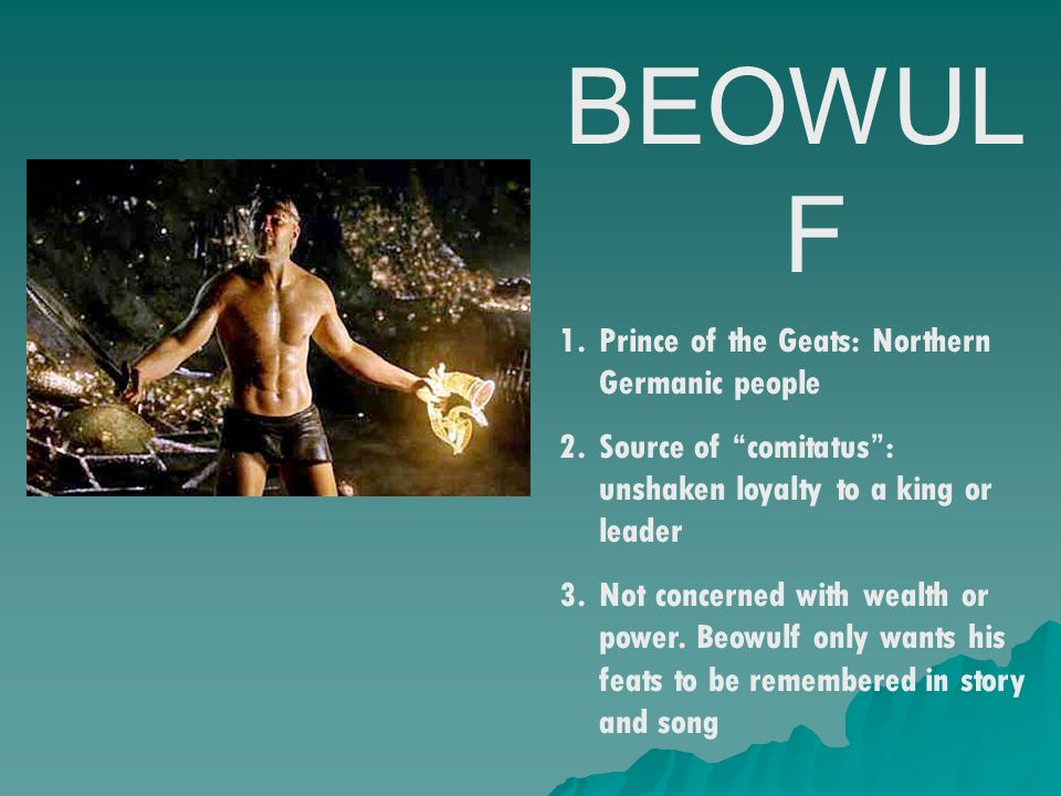germanic ancestors not to mention beowulf essay