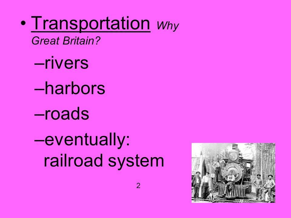 why was great britain the first country to industrialize Why did the industrial revolution start in  of the british industrialization the paper first sheds light on  why britain was the first country to .