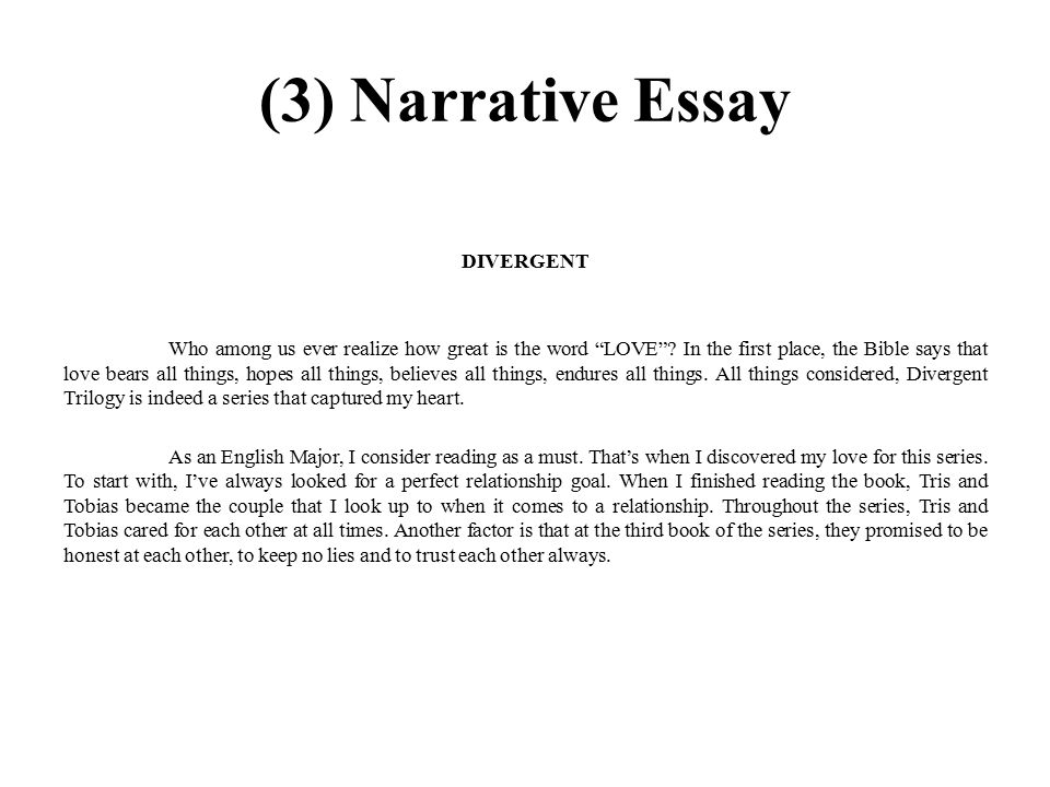 110 NARRATIVE ESSAY TOPICS