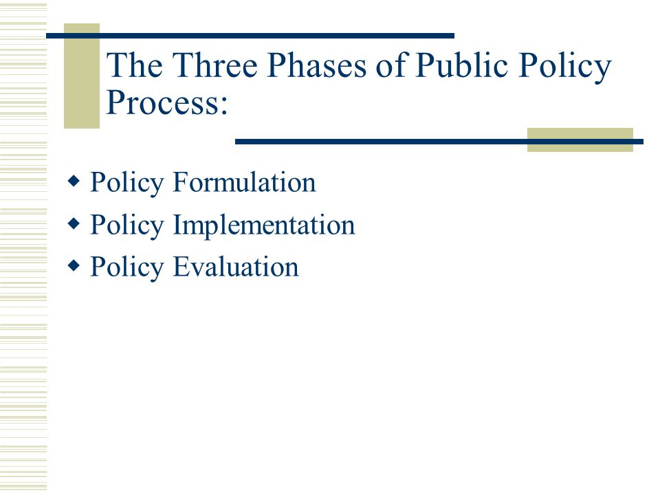 public policy formulation and implementation 2017-3-13 performance measurement as a public policy implementation tool in the south african public service tholumuzi bruno luthuli 2005 university of pretoria etd luthuli, t.