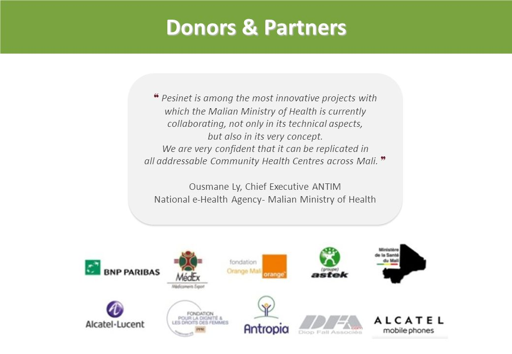 Partenaires et soutiens