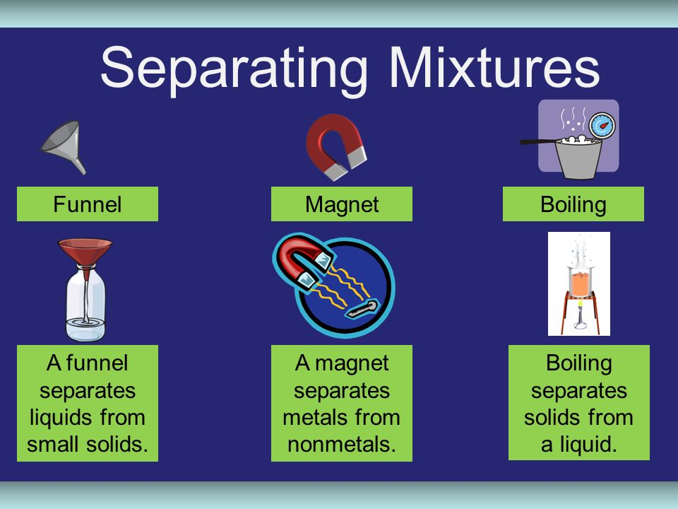 Separating Mixtures and Forming Solutions - ppt video ...
