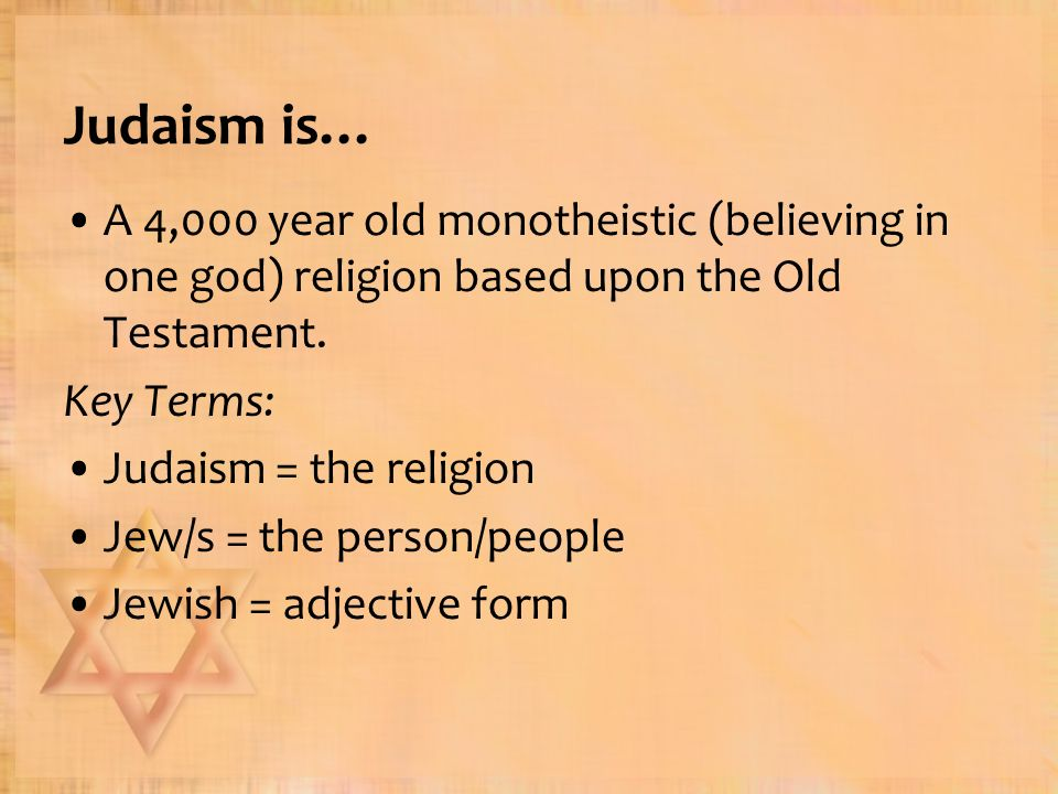 the religion of the old testament and the role of god Both religions believe in the old testament, the ethical teachings of the law, and a hope in the coming of the kingdom of god however, they differ on some important fundamental doctrines judaism rejects the christian doctrine of the trinity and teaches a unified monotheism based on deuteronomy 6:4.
