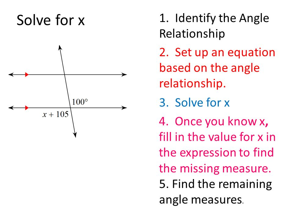 finding angle measures with equations ppt video online download. Black Bedroom Furniture Sets. Home Design Ideas