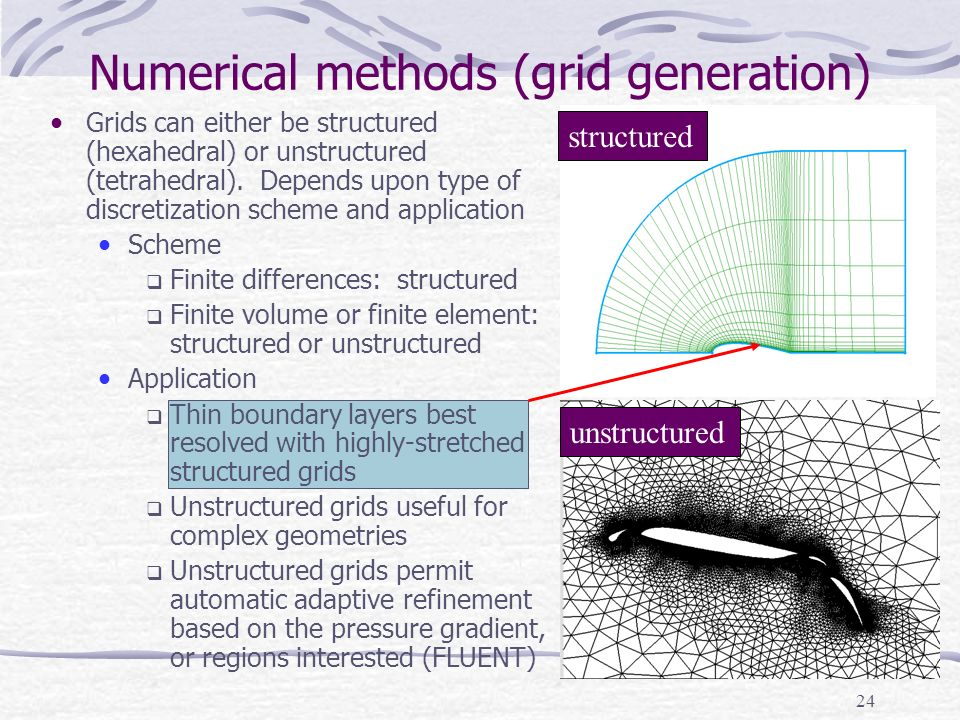 Numerical methods (grid generation)