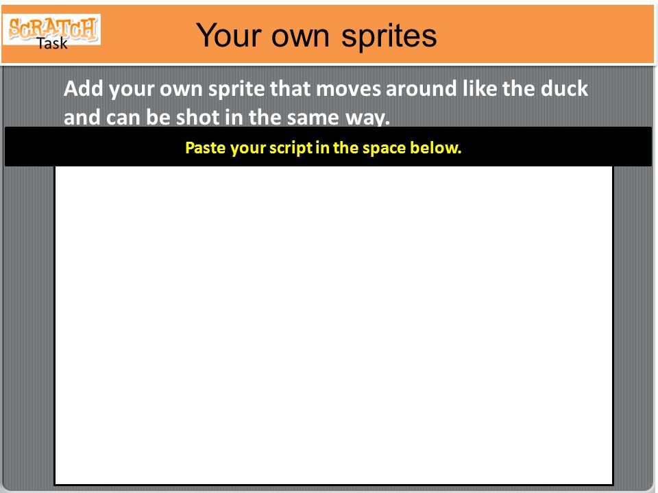 how to add your own sprites to scratch