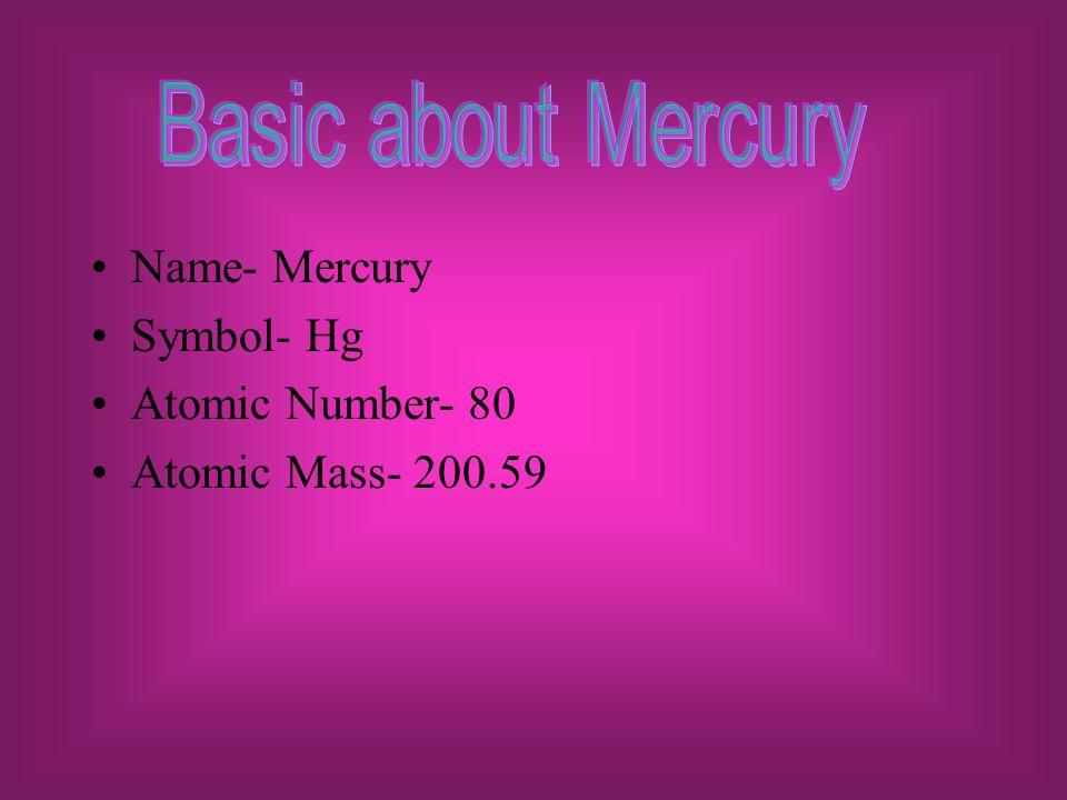 Mercury Mona Badran Period Ppt Download