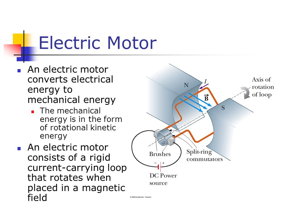 Electrical Mechanical Energy : Magnetic fields a vector quantity symbolized by ppt