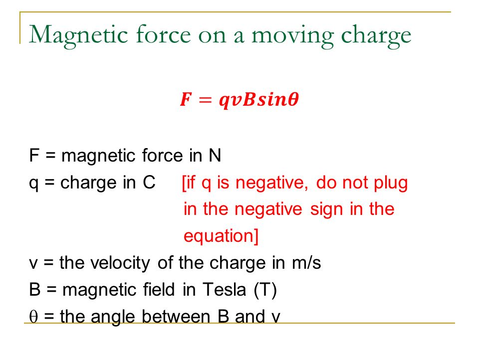 how to find tesla of a magnetic field