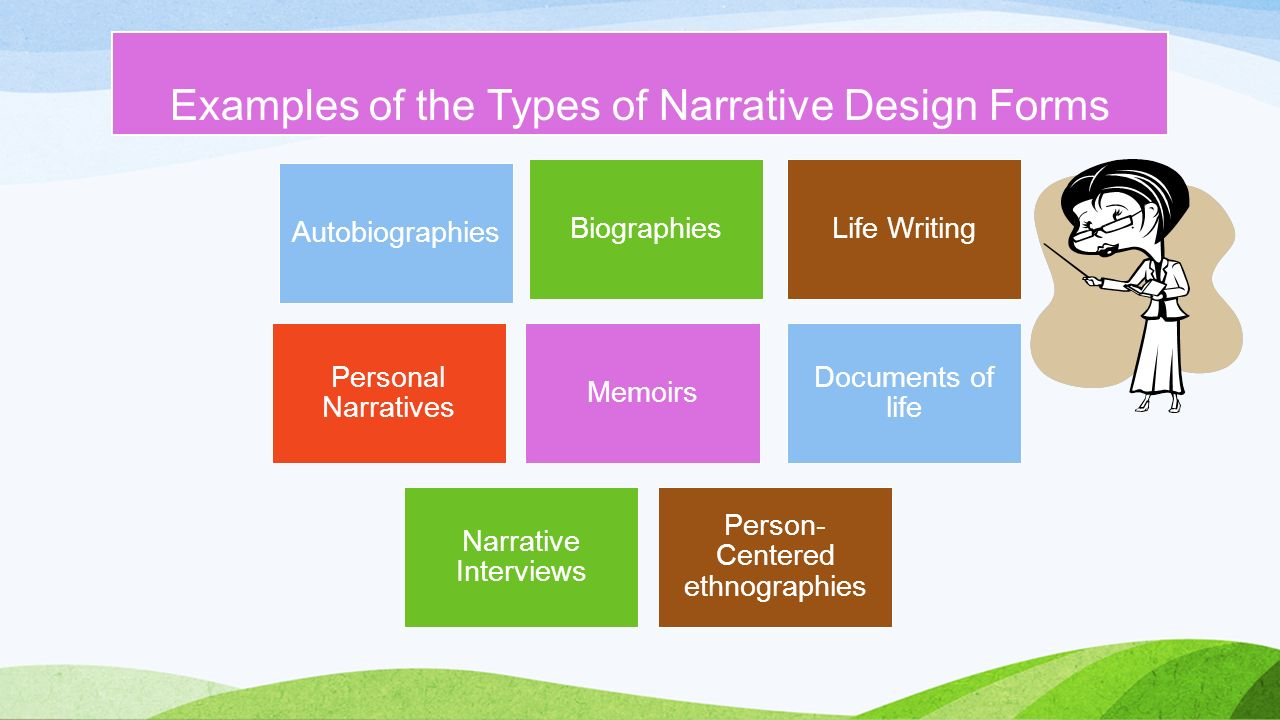 Different Types Of Narration Essay