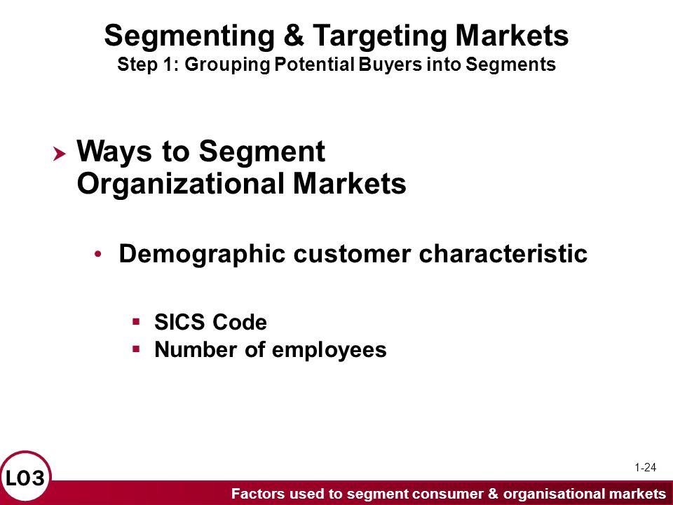 segmenting and targeting markets Creating different market target is a good beginning to be done by busineesman to avoid tight competition with competitors but this decision needs support.