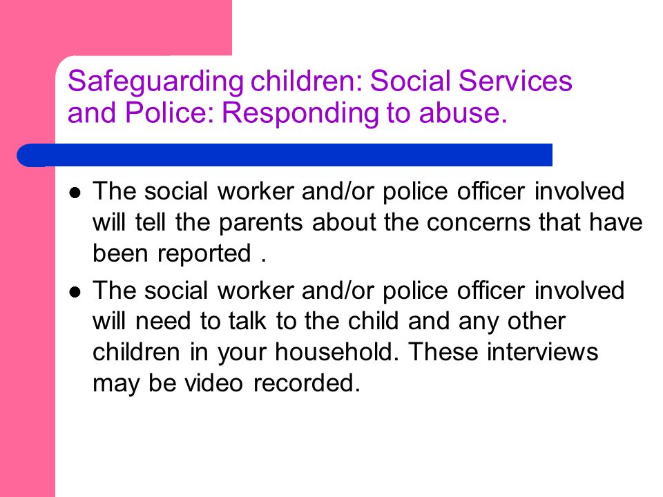 Safeguarding: Abuse and Children