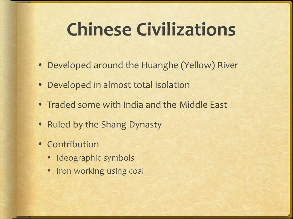 Early civilizations ppt video online download chinese civilizations sciox Choice Image