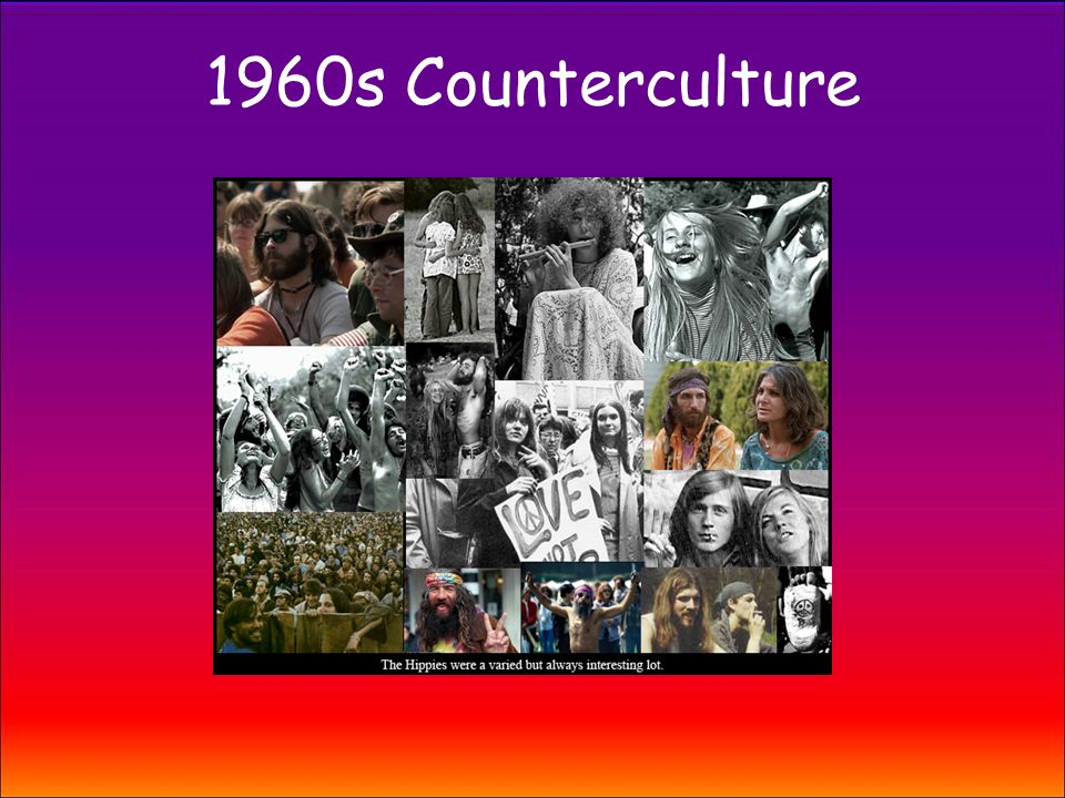 a history of counterculture in the 1950s history essay Syndicate this essay the fear of 'alienation' from a perceived state of harmony has a long and winding history own as a talismanic term in the 1950s and.