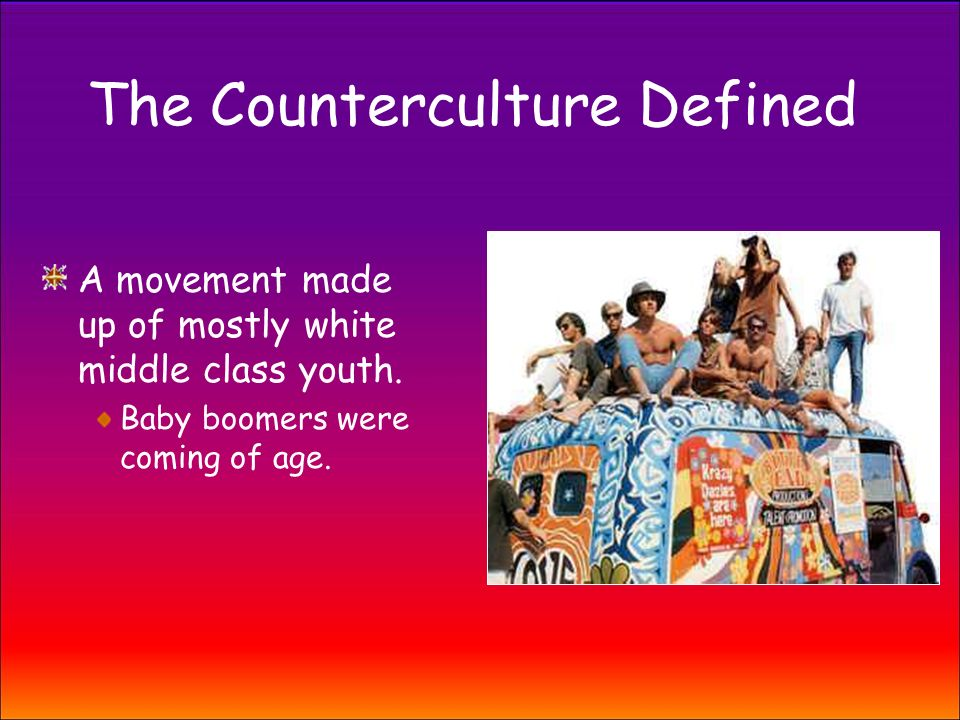the counter culture movement