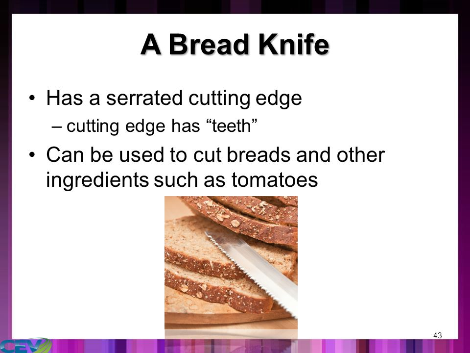 an analysis of the finest cutlery and the advantages and disadvantages of common knives