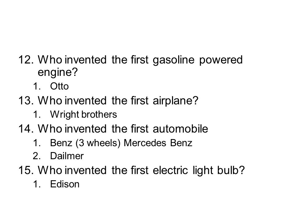 Ch 6 section 1 the industrial revolution spreads ppt for Who invented the mercedes benz