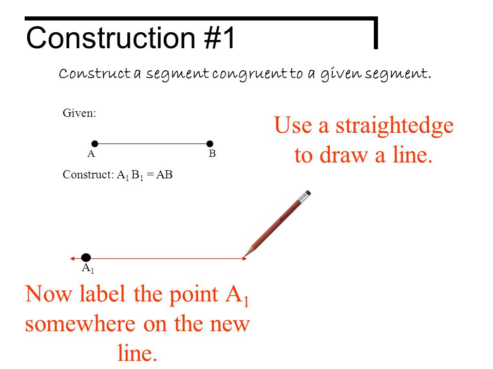 Basic Geometric Constructions ppt download – Geometric Constructions Worksheet