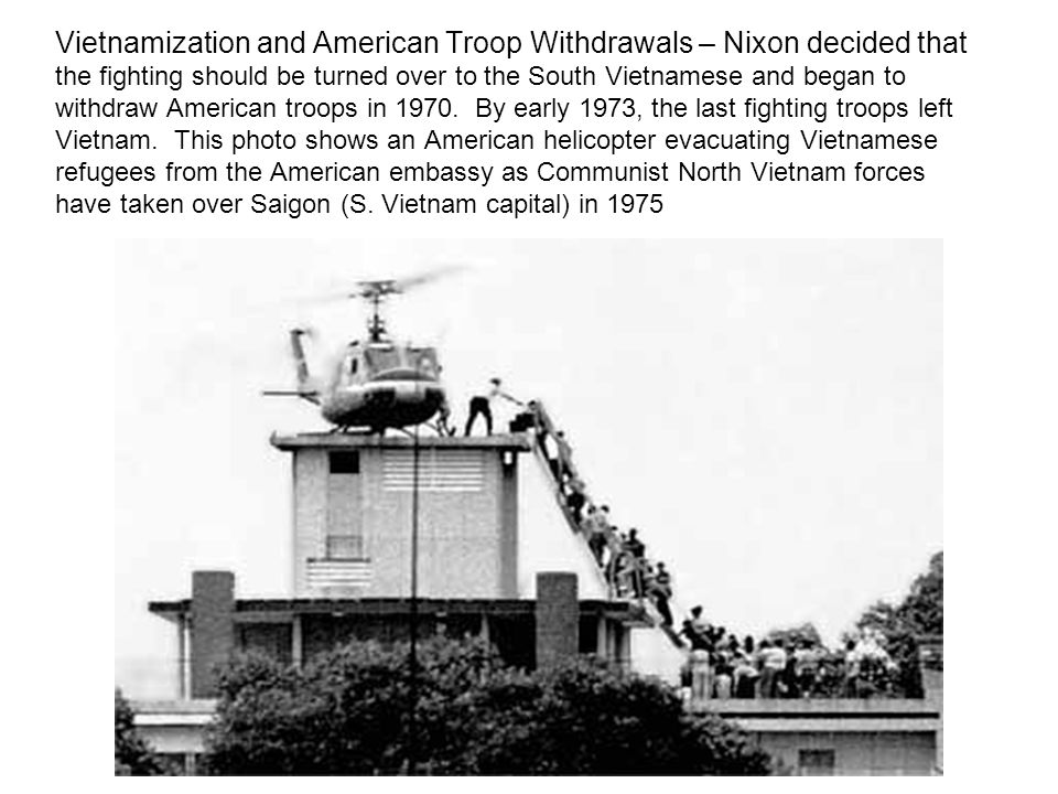 a history of vietnamization in south vietnam Abandoning vietnam: how america left and south vietnam lost the war   vietnamization failed just two years after the united states withdrew its forces  from.
