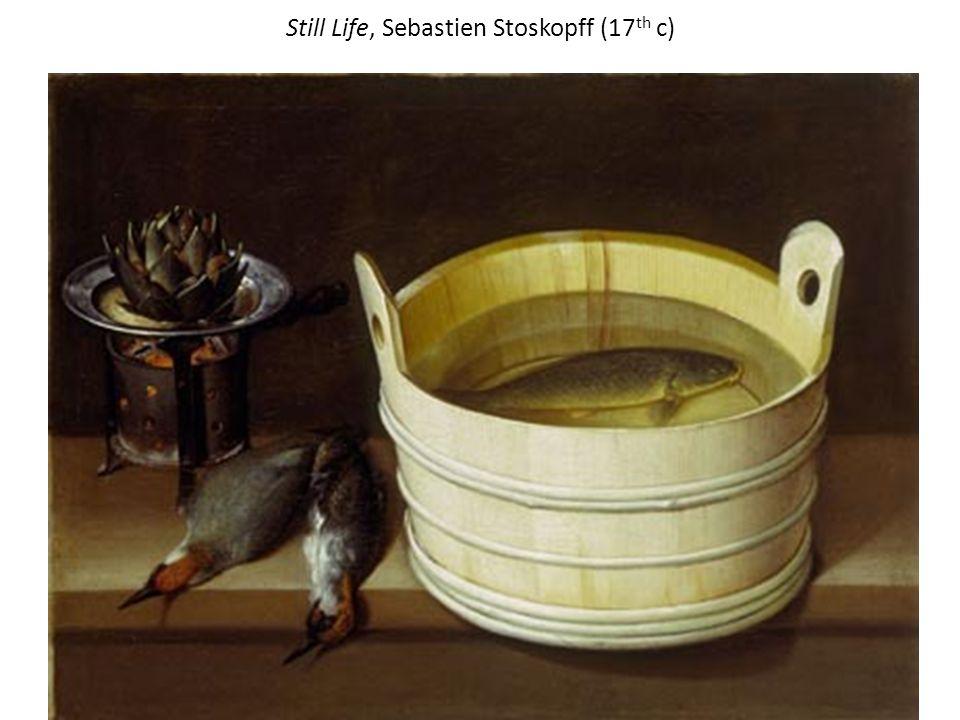 Still Life, Sebastien Stoskopff (17th c)