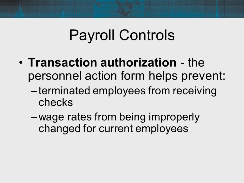 Payroll Processing And Fixed Asset Procedures  Ppt Video Online
