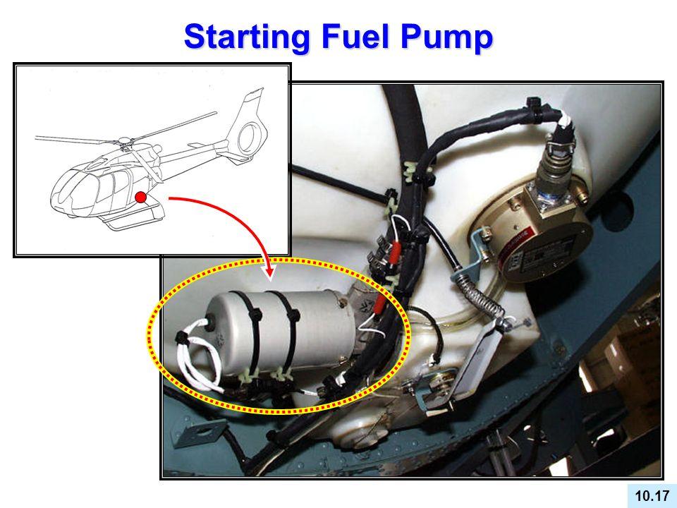 Starting Fuel Pump 10.17 STARTING (BOOSTER) PUMP GENERAL DESCRIPTION