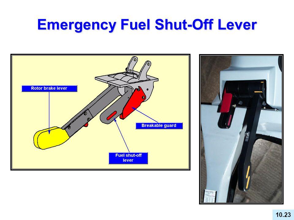 Emergency Fuel Shut-Off Lever