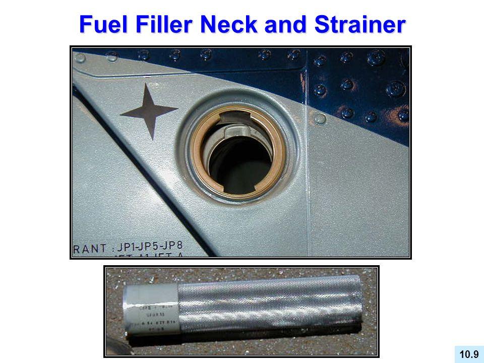 Fuel Filler Neck and Strainer