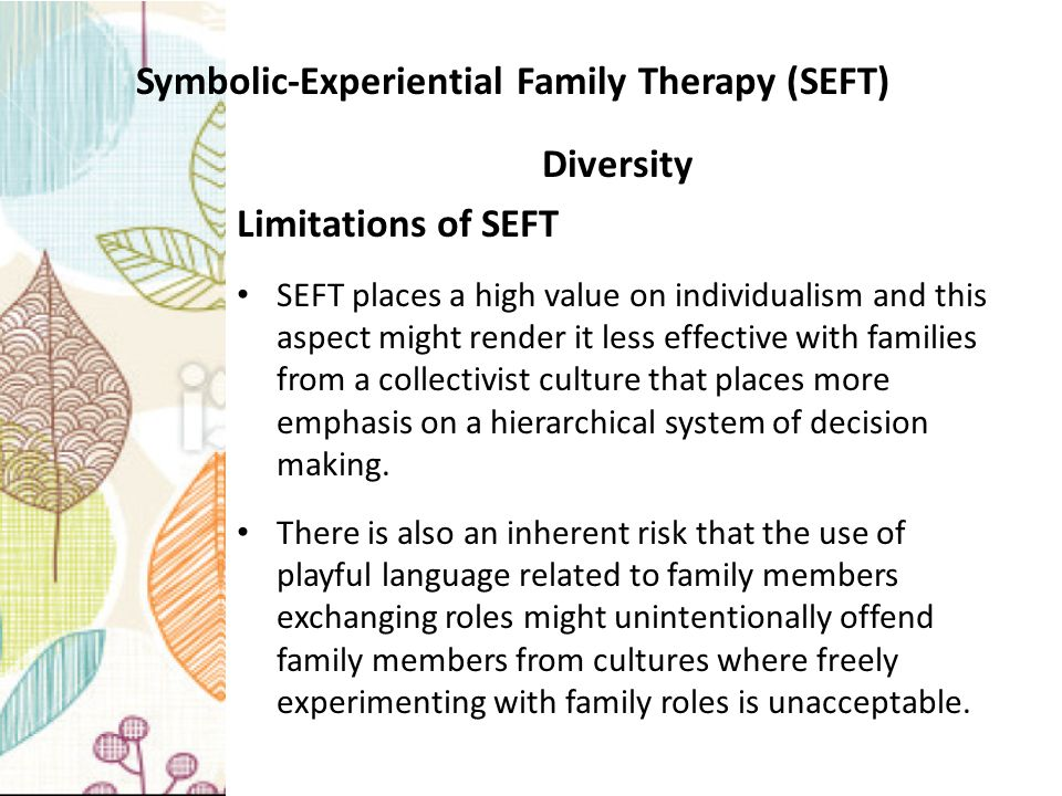 symbolic experiential family therapy
