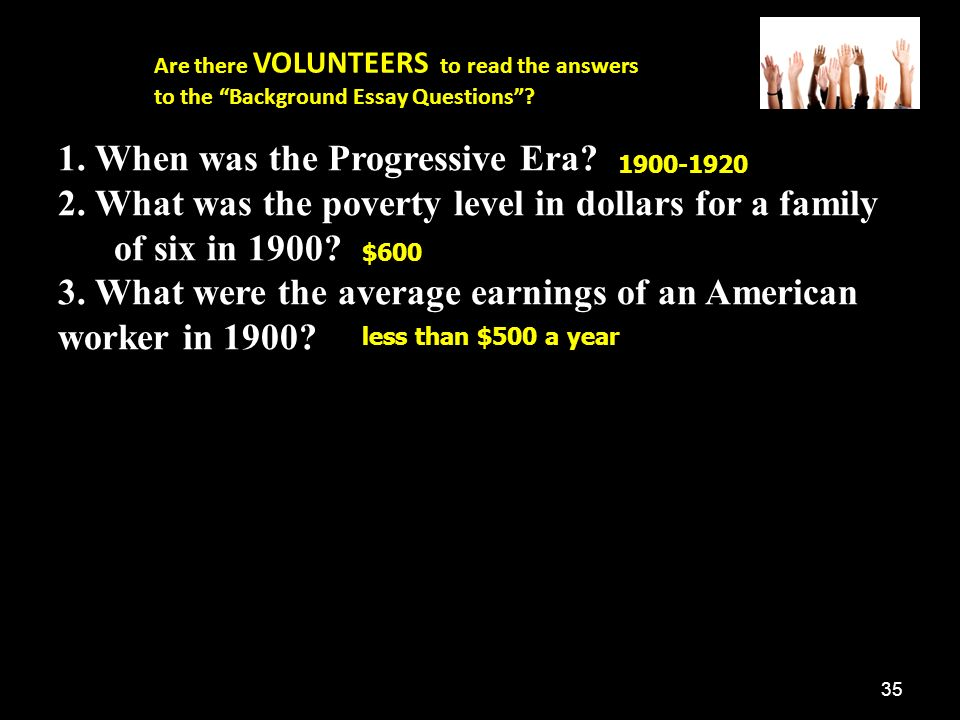 progressivism where will you put your million dollars rdquo ppt when was the progressive era