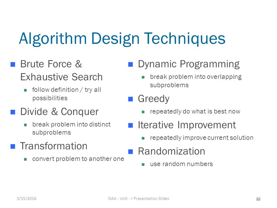 Algorithms Design Techniques And Analysis Solution Manual
