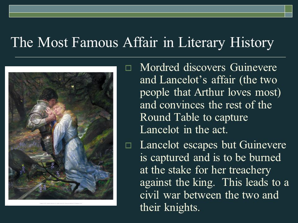 adulterous affair between guinevere and lancelot relationship