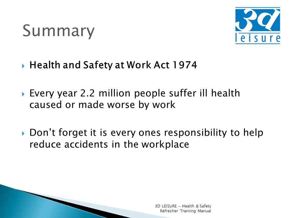 health and safety duties at work Reformed construction legislation has come into force this week, aimed at helping the industry protect the health and safety of workers under the construction (design and management) regulations 2015, clients, designers and contractors must work together to ensure that projects are set up to run from.