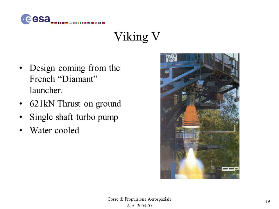 Viking V Design coming from the French Diamant launcher.