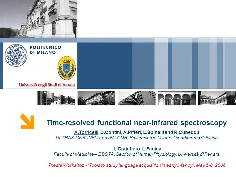 Time-resolved functional near-infrared spectroscopy