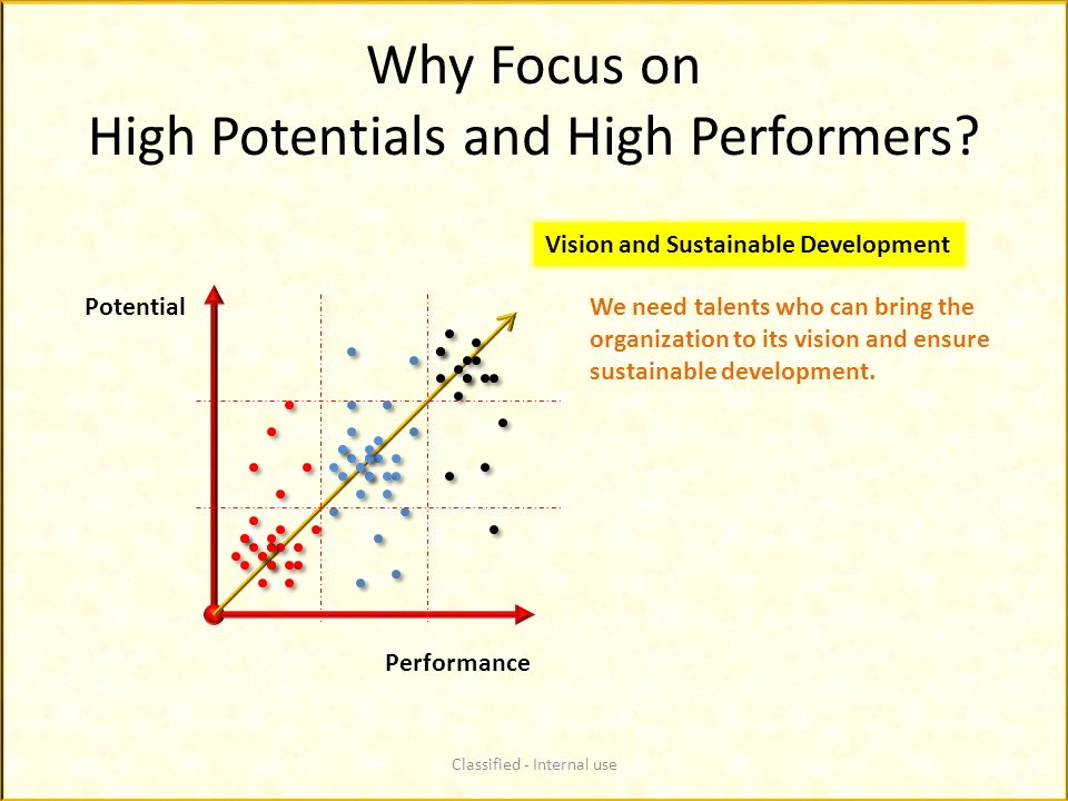 Why Focus on High Potentials and High Performers