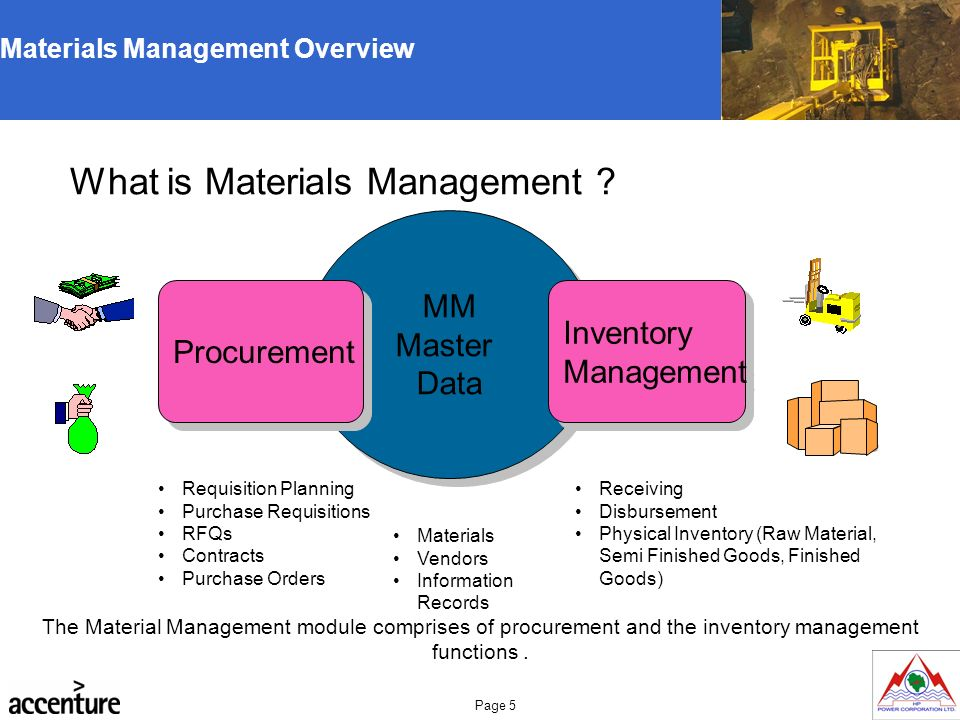 Hppcl Mm Trg V2 Training Manual Materials Management